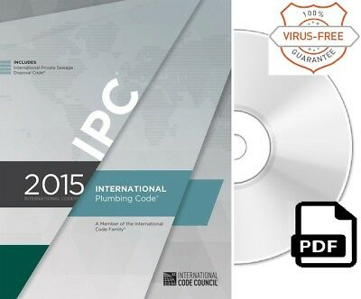 2015 International Plumbing Code (IPC) by ICC (On CD)