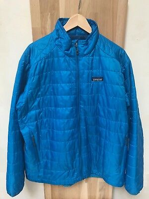 Patagonia Men's Nano Puff Jacket TAILLE XL ISOLATION HOMME BLEU