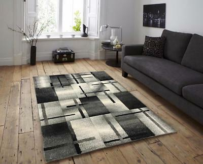 New Black Silver Grey Small Extra Large Big Huge Size Floor Carpet Rug Mat Cheap