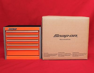 Snap On  Electric Orange   Mini Bottom Roll Cab Tool Box - Brand New
