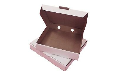 """100 Plain Pizza Boxes 5""""7""""8""""9""""10""""12""""14"""" inches Postal Boxes in Multiple Sizes"""