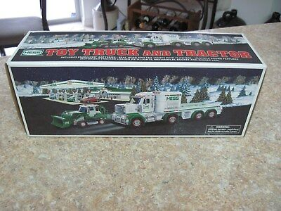 2013 Edition HESS Toy Truck and Tractor ~ New