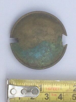 Vintage Round Brass Clock Pendulum Weight