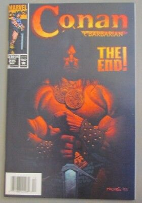 Conan the Barbarian #275 Newsstand Last Issue