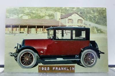 Car Automobile 1925 Franklin Postcard Old Vintage Card View Standard Souvenir PC