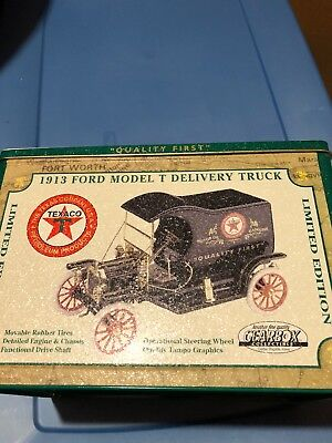 Texaco 1913 Ford Model T Delivery Truck In Tin