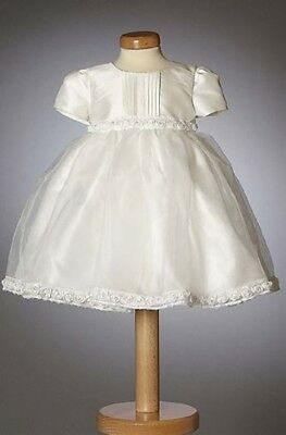 Daisy mock-silk christening/occasions dress Heritage Collection 18-24m poss 2-3y