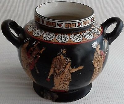 Tuscan Pottery Grecian ware Urn Shaped vase