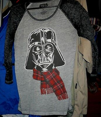 Star Wars woman's XL tee shirt long sleeve