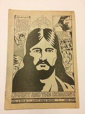 Light Christ And The Comics! #6 1976 Rick Griffin Hartley Yoe Phillips