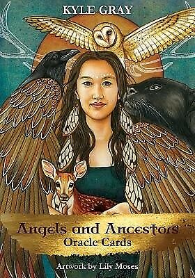 NEW >> Angels & Ancestors Oracle Cards : A 55-Card Deck & Guidebook Kyle Gray