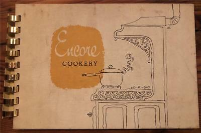 1958 HOWARD W. SAMS Famous Indiana Publisher ENCORE COOKERY Family Recipe Book