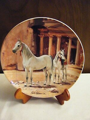 Spode The Arabian Horse Plate Susan Whitcombe 1988  Noble Horse Collection