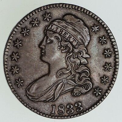 1833 Capped Bust Half Dollar - Circulated *4882