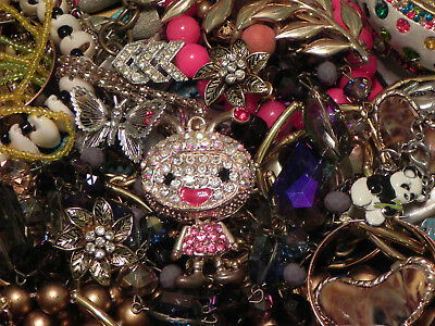 Estate Sale Lot of Vintage to Modern Jewelry, Untested, #692 Some Signed