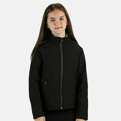 Regatta Junior Children's Softshell Jacket Kids Coat Boys Girls School (TRA683)