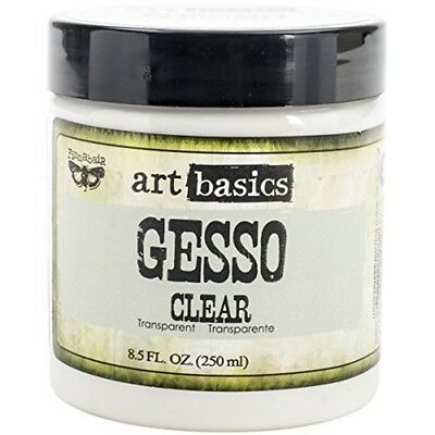 2-pack - Prima Marketing Art Basics Gesso, 8.5-ounce Each, Clear - Gesso