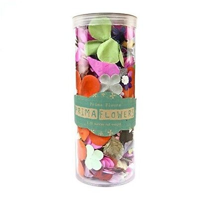Wildflower Pillar Pack Paper Petals .5 To 2.5 1.2oz-mixed - 5 25 12ozmixed