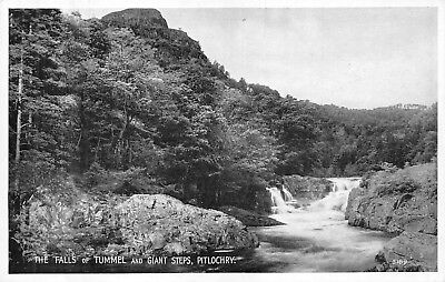 The Falls Of Tummel And Giant Steps, Pitlochry.   AM.680