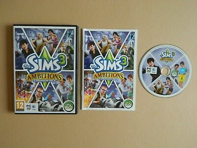 Sims 3 Ambitions Expansion Pack PC/ MAC Game - Simulation Role Play RPG
