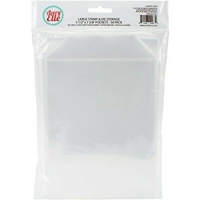 "Avery Elle Ss-5001 Stamp And Die Storage Pockets 50/pkglarge 5.5""x7.25"", Single"