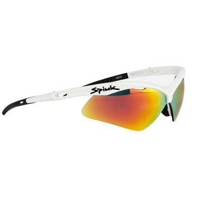 Spiuk Ventix/red Mirror Lenses White , Lunettes Spiuk , cyclisme , Protections