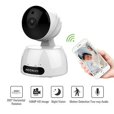Home Security Camera Wireless, Baby/Pets/Elderly Monitor WiFi 1080P HD Indoor...