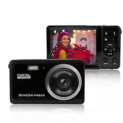 Mini Digital Camera for Photography with 3 Inch LCD 8X Digital Zoom, 20MP HD ...