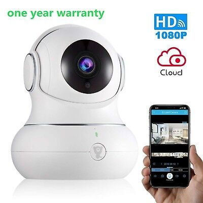 Wireless Baby Monitor WiFi IP Camera Security1080P with Night Vision for Home...