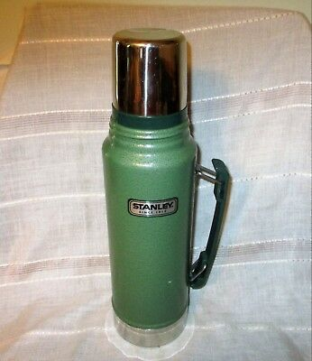 Stanley Hot/Cold Vacuum Bottle Coffee Thermos Classic Stainless Steel 1.1 Quart