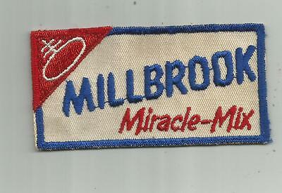 1950's VINTAGE MILLBROOK MIRACLE MIX BREAD PATCH NABISCO COMPANY BAKERY PATCH