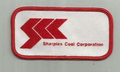 Vintage Sharples Coal Corporation Va Patch Mine Miners Unsewn 4 1/8 Inches Wide