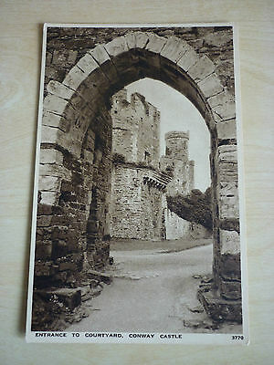 Picture Postcard, Entrance to Courtyard Conway Castle by Salmon Unused.
