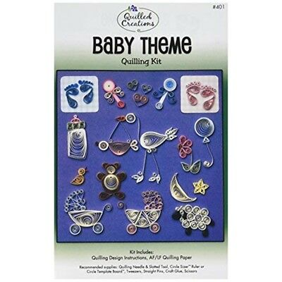 Quilled Creations Paper Quilling Kit Baby - Theme Theme Kits Shipping Free