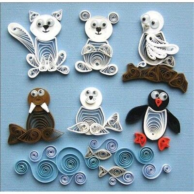 Quilled Creations Paper Quilling Kit Arctic Buddies - Kit