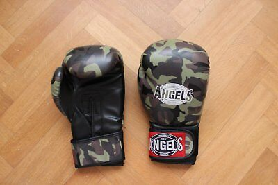 "Gants de boxe ""Champion's Best Angel's Choice"" couleur camouflage grande taille"