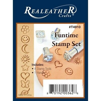 Realeather Crafts Leather Funtime Stamp Set