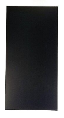 """G-10 BLACK .062"""" KNIFE HANDLE SPACER / LINER MATERIAL 6"""" x 12"""" ( 1 PIECE )"""