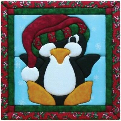 Quilt Magic 12-inch By 12-inch Penguin Kit - 12 x 12inch Kit12x12