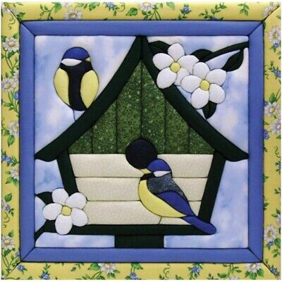Quilt Magic 12-inch By 12-inch Happy Home Kit - 12 x 12inch
