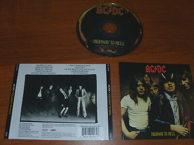 """Ac/dc """" Highway To Hell """" 2003  Cd !"""