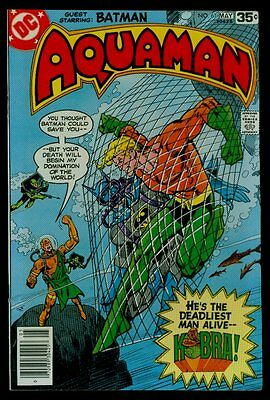 DC Comics AQUAMAN #61 Batman Kobra NM- 9.2