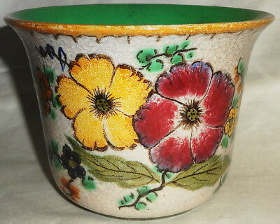 Dated 1947 PZH GOUDA small AREO pattern CACHEPOT #2010/17 - ZUID HOLLAND