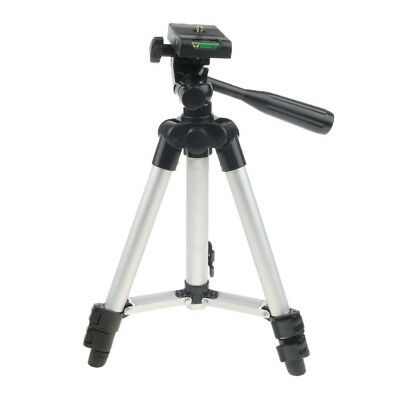 Portable Mini Travel Table-Top Photo Tripod Foldable w/ Ball Head 3 Section
