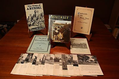 18 US Armed Forces in UK WWII pamphlets Plus 5 WWII era British Travel Brochures