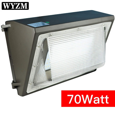 LED Wall Pack Light 250-300W HPS MH Bulb Replacement Outdoor Lighting Fixture70W