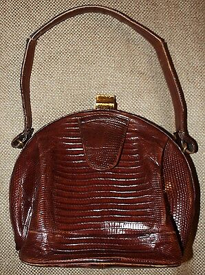 Vintage Surrey Lizard Purse Handbag