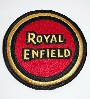 Royal Enfield embroidered cloth badge