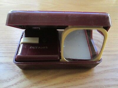 PATERSON Illuminated POCKET VIEWER BATTERY OPERATED 50'S/60'S -BOXED (988)