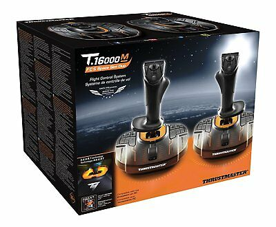 Thrustmaster T.16000M Space Sim Duo Stick (Hosas System, T.A.R.G.E.T Software)